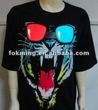 VERY HOT!!! 2012 Tiger Icon In Stock EL T-shirt