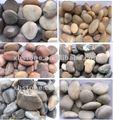 pierres normales polies décoratives de caillou de jardin