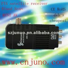 FTA mini av strong satellite decoder