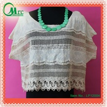 2012 new fashion lace tops