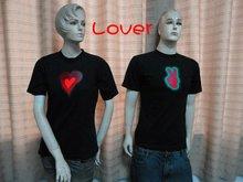 2012 special design for lovers EL t-shirt