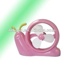 Cartoon Snail Portable Handy USB Cooler Mini Fan