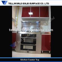 Kitchens furniture 2012,solid surface complete kitchen design