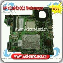 431843-001,Laptop Motherboard for HP Pavilion dv2000, Compaq Presario V3000 Series Mainboard,System Board