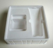 PVC packaging tray