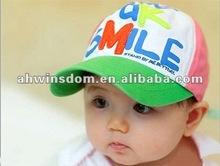 2012 fashion lovely letter sunhat children hats