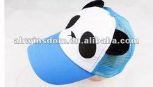 2012 fashion lovely panda sunhat children hats