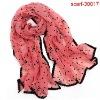 chiffon scarf slides new design