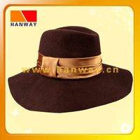 felt hillbilly hat hand made hat girls' hat