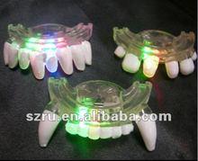 Halloween led flashing teeth