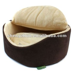 round warm removeable pet bed cushion