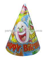 Happy birthday paper hat P-A011