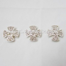 2012 new design diamond metal flowers