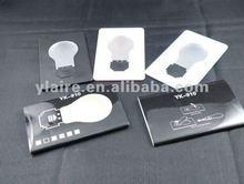 Very popular ! led light flashlight card with credit shape