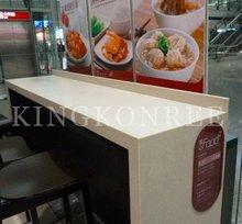best sale fast food restaurant long bar counter top