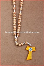 Manufacturer supply wooden beads necklace,bracelet,accessories,beads free samples