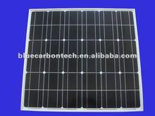 A grade cell 90w 12v mono solar panel
