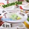 High Quality 4 Pcs Vacuum Food Sealer Lid
