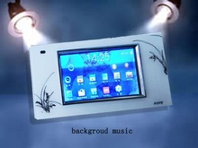 Home Automation colourful 4.3 inches TFT screen Background music