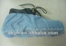 disposable non woven non slip shoe cover, anti-skid shoe cover box packing