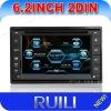 Universal 6.2 inch 2 din autoradio gps car dvd with am/fm/radio