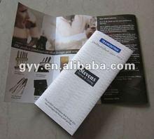 Knife booklet/leaflet/brochure printing 2012
