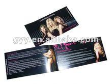 Jewelry booklet/leaflet/brochure printing 2012