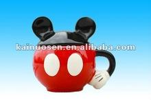 Hot sale Mini Mikey Cup Cartoon ceramic mugs gift