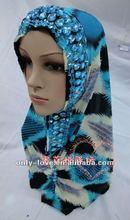 islamic rhinestones hijab party muslim scarf sfy005