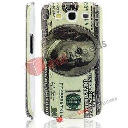 USD Dollar Cash Funny Hard Case for Galaxy S3 i9300