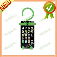 Stand Holder Funny Silicone Case for iPhone 4 4S