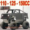 110cc, 125cc, 150cc Monster Go Cart