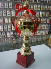 Metal trophy cup awards, hot sale 2012