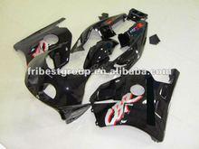 Motorcycle fairing kit body work for CBR250RR MC22 1990-1999 MC22 BLACK