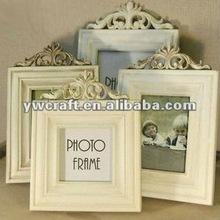 White Wooden photo frame (2012 new design)