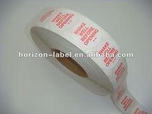 2012 best price label printing service