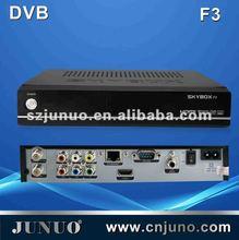 DVB-S2 1080P FULL HD +PVR+1 MULTI CAS+Ethernet internet tv receiver