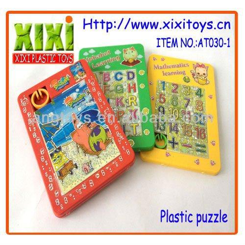 Plastic funny adult puzzle games