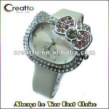 Cute HelloKitty Quartz Crystal Wrist Watch