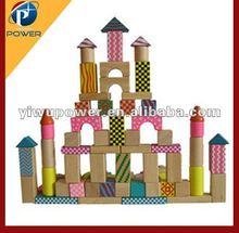 Building block baby wooden toy
