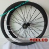 Light carbon spoke bike wheel 700c clincher 38mm for Road Bike