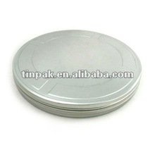 customized plain movie can movie tin for DVD