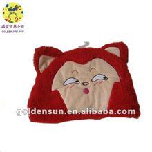 2012 cute ali red fox shaped hats