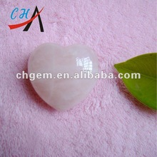 semi precious stone heart shaped wedding decoration