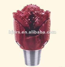 "8"" 9 7/8""tricone bit stock(iadc 637)TCI roller rock rotary golden field drill bit"