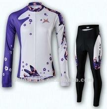 2012 Women's Custom Cycling Jersey & Pants Set