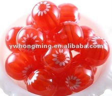2012 Hotes resin beads 14mm,round resin beads red loose wholesale!