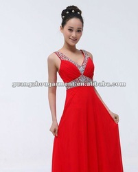 OEM new fashion wedding dress 2012