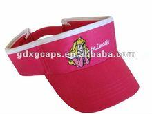 2012 High Quality uv sun visor hat