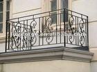 Artistic Iron Balcony Railing